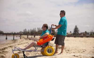 Accessible beach locations